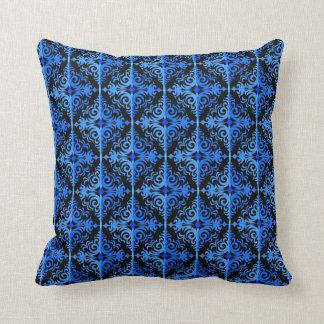 Diseño azul y negro elegante de la diadema cojín