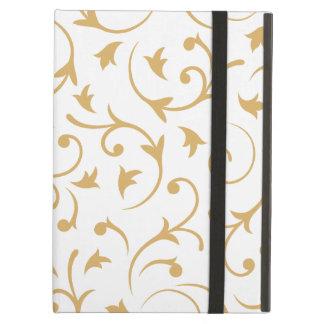 Diseño barroco - oro en blanco