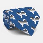 Diseño básico del Malamute de Alaska Corbatas Personalizadas