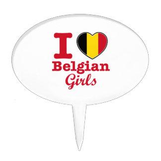 Diseño belga figuras para tartas