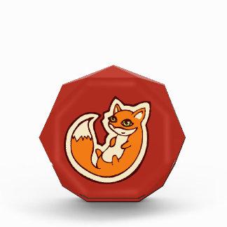 Diseño blanco del dibujo del Belly del Fox del
