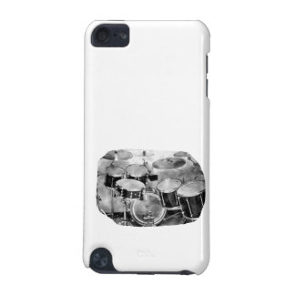 Diseño blanco y negro de la fotografía de Drumset