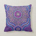 Diseño bohemio colorido del modelo del batik de la