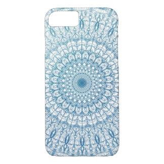 Diseño bohemio del fractal del cielo y de las funda iPhone 7