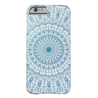 Diseño bohemio del fractal del cielo y de las funda para iPhone 6 barely there