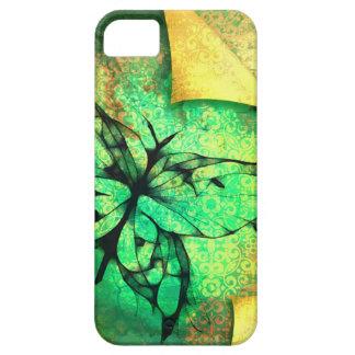 Diseño bonito de la mariposa de la acuarela iPhone 5 fundas