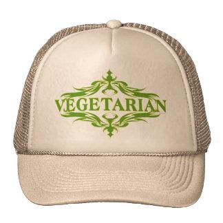 Diseño bonito para el vegetariano gorros