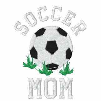 Diseño bordado de la mamá del fútbol