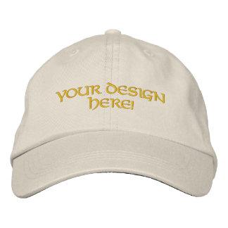 Diseño bordado personalizado del gorra gorros bordados