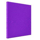 Diseño brillante de la MOD de la púrpura Impresiones En Lona