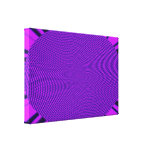 Diseño brillante de la MOD de la púrpura Impresiones En Lienzo Estiradas