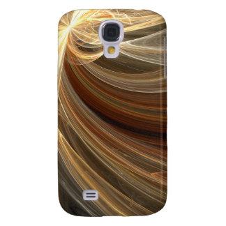 Diseño brillante de Starburst de la ráfaga del ins Funda Para Galaxy S4