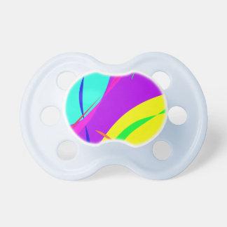 Diseño brillante del extracto de los colores chupete