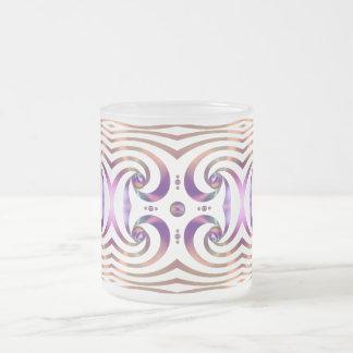 Diseño brillante del extracto de los orbes de la c taza