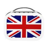 Diseño británico de la fiambrera el   Union Jack d
