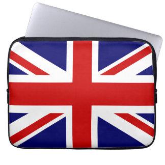 Diseño británico de la manga el   Union Jack del Mangas Portátiles
