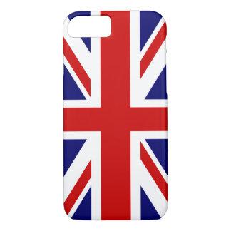 Diseño británico del caso el   Union Jack del Funda iPhone 7