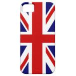 Diseño británico del caso el | Union Jack del iPho iPhone 5 Carcasas