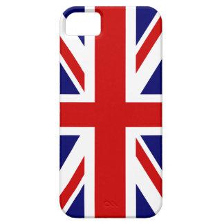 Diseño británico del caso el | Union Jack del iPhone 5 Fundas