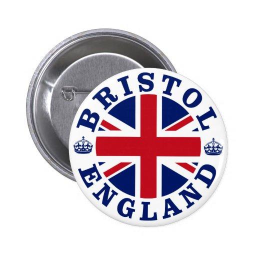 Diseño BRITÁNICO del vintage de Bristol Pin