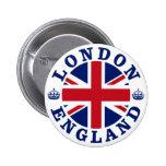 Diseño BRITÁNICO del vintage de Londres Pin