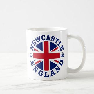 Diseño BRITÁNICO del vintage de Newcastle Taza Clásica