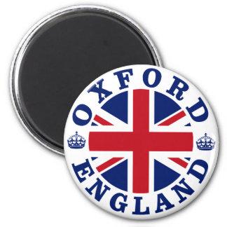 Diseño BRITÁNICO del vintage de Oxford Imán Redondo 5 Cm