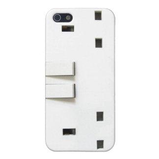Diseño BRITÁNICO del zócalo iPhone 5 Protectores