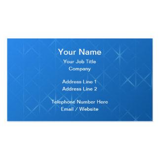 Diseño brumoso azul del extracto de la rejilla tarjetas de visita