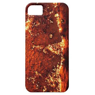 Diseño caliente del magma iPhone 5 Case-Mate funda