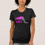 Diseño caliente del tacón alto que compite con camiseta
