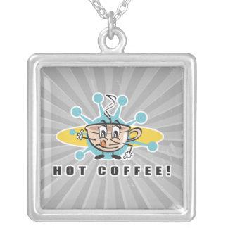 diseño caliente retro del café joyería