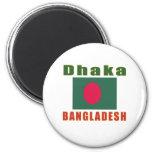 Diseño capital de Dacca Bangladesh Imán