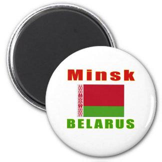Diseño capital de Minsk Bielorrusia Imán Para Frigorifico