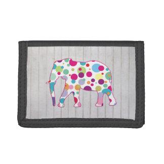 Diseño caprichoso del elefante de los lunares