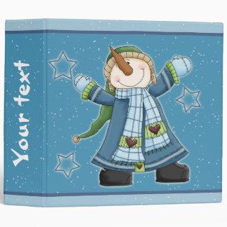 """Diseño caprichoso del muñeco de nieve carpeta 2"""""""