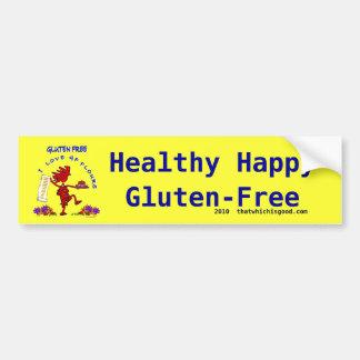 Diseño caprichoso Gluten-Libre Pegatina Para Auto