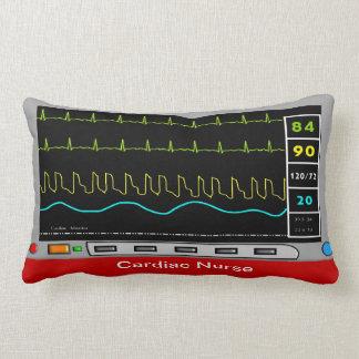 Diseño cardiaco del monitor de la almohada de la