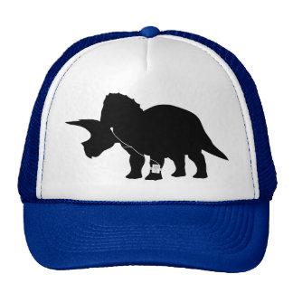 Diseño cariñoso del Triceratops de la música Gorros