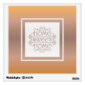 Diseño casero dulce casero vinilo adhesivo