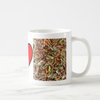 Diseño casero impresionante de la foto de la fibra taza