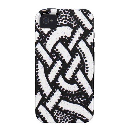 Diseño céltico 1 Case-Mate iPhone 4 carcasas