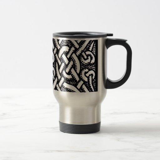 Diseño céltico 1 taza de viaje