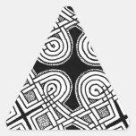 Diseño céltico 3 colcomanias de trianguladas