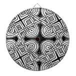 Diseño céltico 3 tablero de dardos