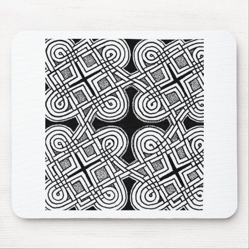 Diseño céltico 3 tapete de raton