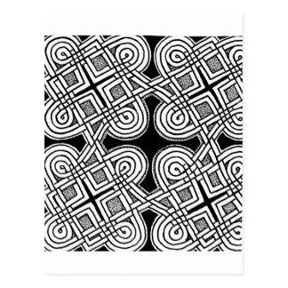 Diseño céltico 3 postal