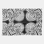 Diseño céltico 3 toallas de mano