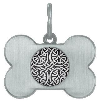 Diseño céltico 4 placa de mascota