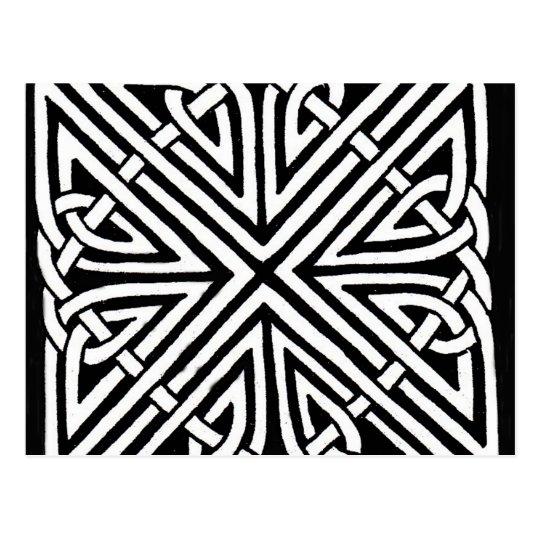 Diseño céltico 5 tarjetas postales